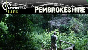 Outdoor laser combat at Battlefield Live Pembrokeshire