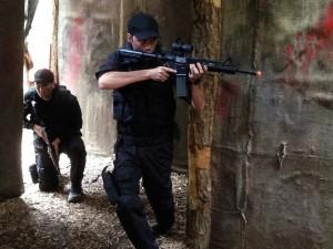 CQB at Battlefield Live Pembrokeshire