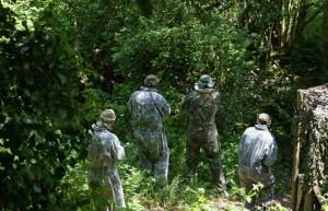 Holding the Base at Battlefield Live Pembrokeshire Laser Combat