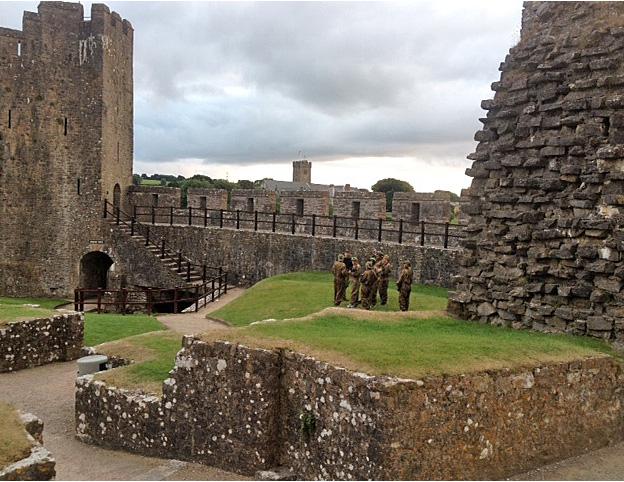 Book your battle in the famous Pembroke Castle