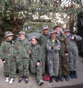 Outdoor laser combat birthdays at Battlefield Live Pembrokeshire